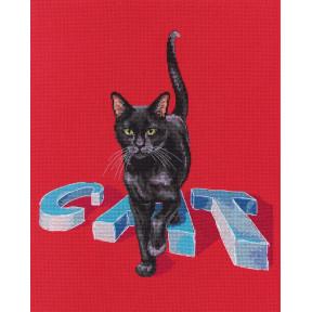 Набор для вышивки крестиком RTO Кот M794