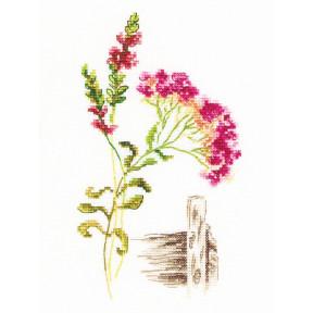 Набор для вышивки крестиком RTO Цветущие травы M777