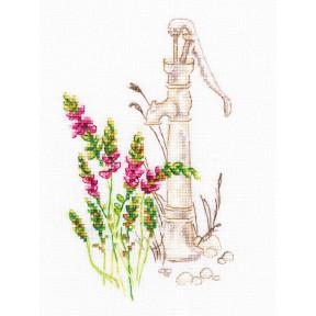 Набор для вышивки крестиком RTO Цветущие травы M775