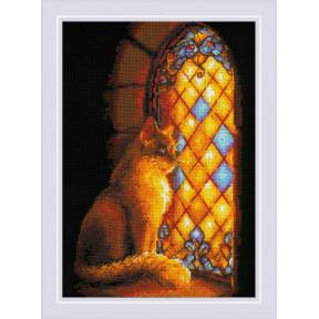 """Набор для вышивки крестом Риолис """"Хранительница замка"""" 1848"""