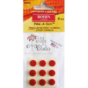 Наперстки Poke-A-Dots (8шт) Bohin (Франция) 98366