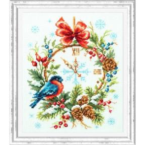 Набор для вышивки крестом Чудесная игла Время Рождества 100-243