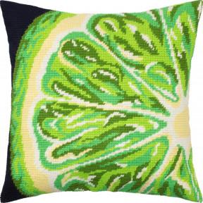 Набор для вышивки подушки Чарівниця Лайм  V-295