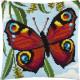 Набор для вышивки подушки Чарівниця Павлиний глаз Z-75 фото