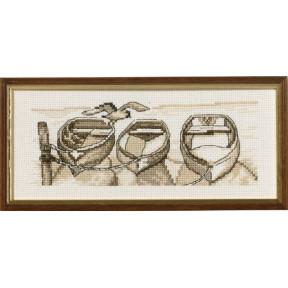 Набор для вышивания Permin (Ships) 13-8142