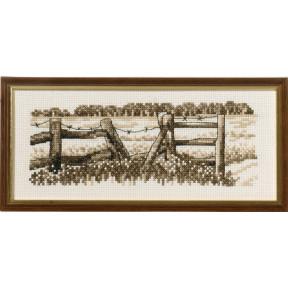Набор для вышивания Permin (Fence) 13-8140