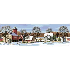 Набор для вышивания Dimensions Scenic Farm 03841