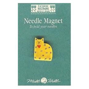 Магнитный держатель для игл Gold Quilt Cat Mill Hill 43125