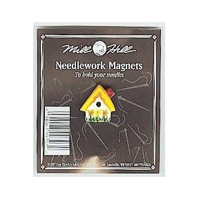 Магнитный держатель для игл Sunflower Birdhouse Mill Hill MHMAG3