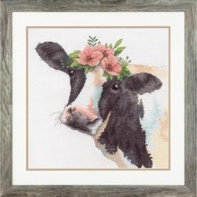 Набор для вышивания Dimensions Sweet Cow 70-35386