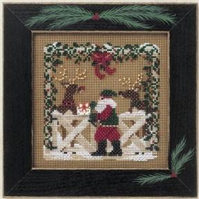 Набор для вышивания Mill Hill Reindeer Ranch MHCB174