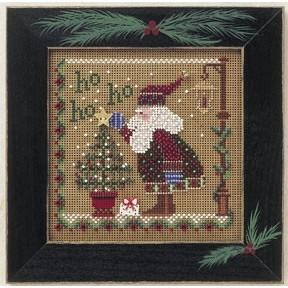 Набор для вышивания Mill Hill Spring Ho Ho Ho Santa//Хо Хо Хо  MHCB170
