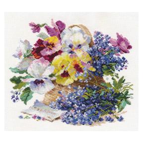 Набор для вышивки крестом Алиса 2-24 Послание любимой