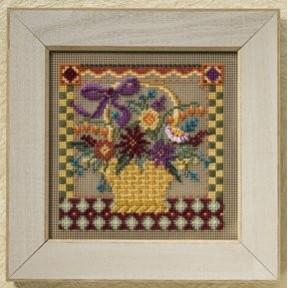 Набор для вышивания Mill Hill Autumn Basket MH148206