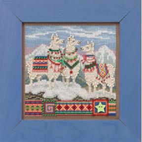 Набор для вышивания Mill Hill Fa, La, La Llamas MH141935