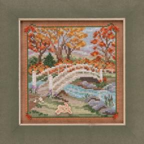 Набор для вышивания Mill Hill Foot Bridge MH141925