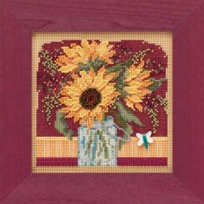 Набор для вышивания Mill Hill Sunflower Bouquet MH141924