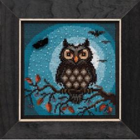 Набор для вышивания Mill Hill Midnight Owl MH141922