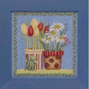 Набор для вышивания Mill Hill Tulips & Daisies DM301912