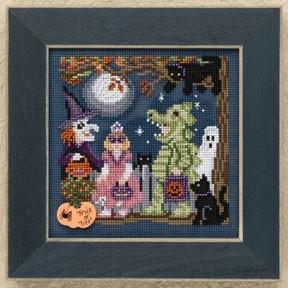 Набор для вышивания Mill Hill Halloween Night MH149206