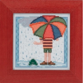Набор для вышивания Mill Hill Rainy Day MH144104