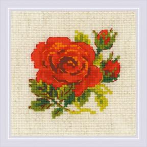 """Набор для вышивки крестом Риолис """"Розочка"""" 1843"""