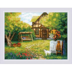 """Набор для вышивки крестом Риолис """"Загородный домик"""" 1845"""