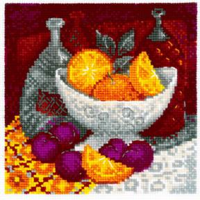 """Набор для вышивания крестом Риолис  """"Апельсины"""" 1859"""