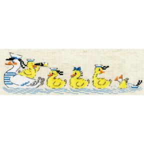 """Набор для вышивания крестом Риолис  """"По морям, по волнам"""" 1865"""