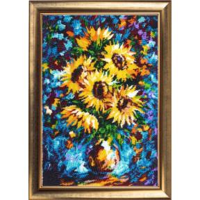 Набор для вышивания бисером Butterfly Подсолнухи в вазе (по мотивам Л. Афремова) 179Б