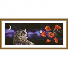 """Набор для вышивания крестом Нова Слобода """"Сон бабочки"""" СР-1501"""