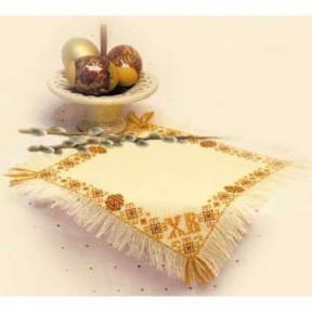 """Набор для вышивки крестом Риолис 823 Салфетка """"Христос Воскресе"""""""