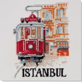 "Набор для вышивки бисером на холсте Абрис Арт ""Стамбул"" АМВ-058"