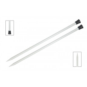 Спицы прямые 2.00 мм - 25 см Basix Aluminum KnitPro 45200