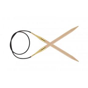 Спицы круговые 8.00 мм - 150 см Basix Birch Wood KnitPro 35365с