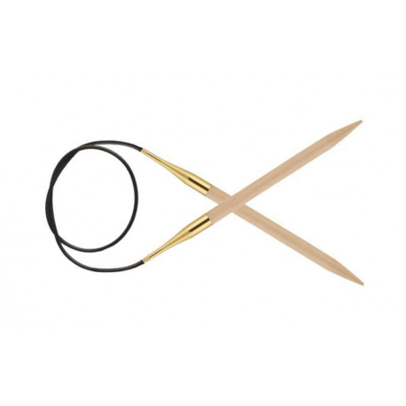 Спицы круговые 2.00 мм - 40 см Basix Birch Wood KnitPro 35300с