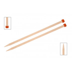 Спицы прямые 3,00 мм - 30 см Basix Birch Wood KnitPro 35430с