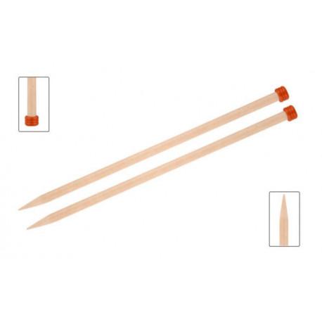 Спицы прямые 3,00 мм - 25 см Basix Birch Wood KnitPro 35420с