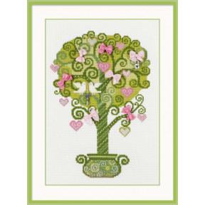 Набор для вышивки крестом Риолис 1295 Дерево счастья