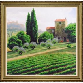 Набор для вышивания Картины Бисером Итальянский пейзаж Р-418