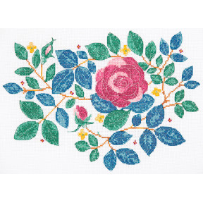"Набор для вышивания Anchor "" Сад роз (Rose Garden)"" DEE100"