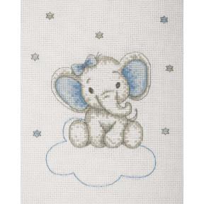 """Набор для вышивания Anchor """" Слоник мальчик(Boy Elephant)"""" AK34"""