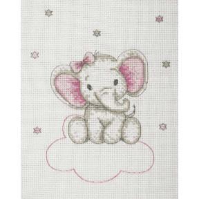 """Набор для вышивания Anchor """" Слоник девочка(Girl Elephant)"""" AK33"""