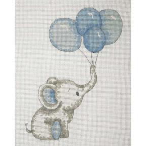 """Набор для вышивания Anchor """" Boy Balloons(Dream Girl)"""" AK31"""