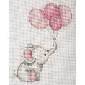 """Набор для вышивания Anchor """"  Воздушные шары девочка(Girl Balloons)"""" AK30"""