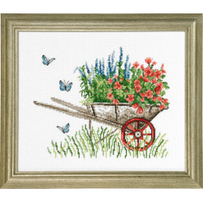 Набор для вышивания Permin (Wheelbarrow) 92-8105