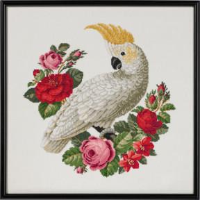 Набор для вышивания Permin (White Ara) 70-9587