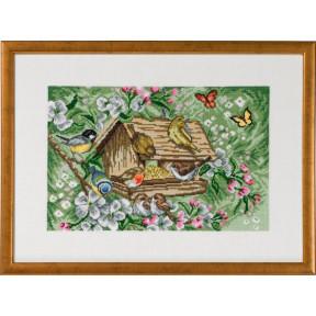 Набор для вышивания Permin (Bird house Garden) 70-9395