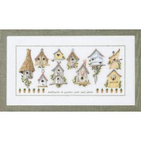 Набор для вышивания Permin (Birdcage) 70-8433