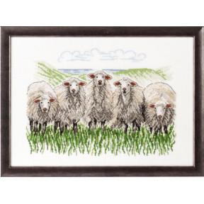 Набор для вышивания Permin (Sheep) 70-7433